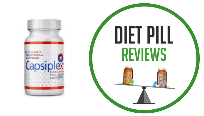 diet pill review capsiplex bottle