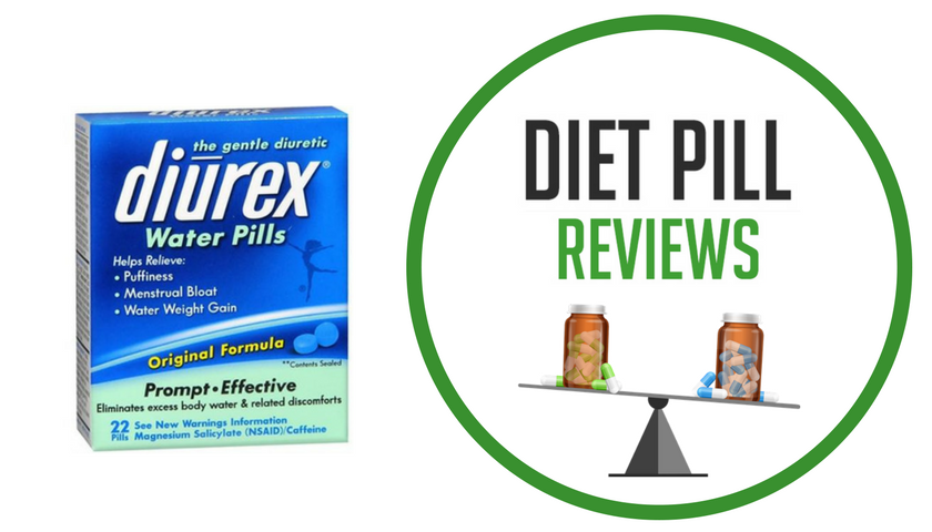 Diet Pill Review diurex water pills package