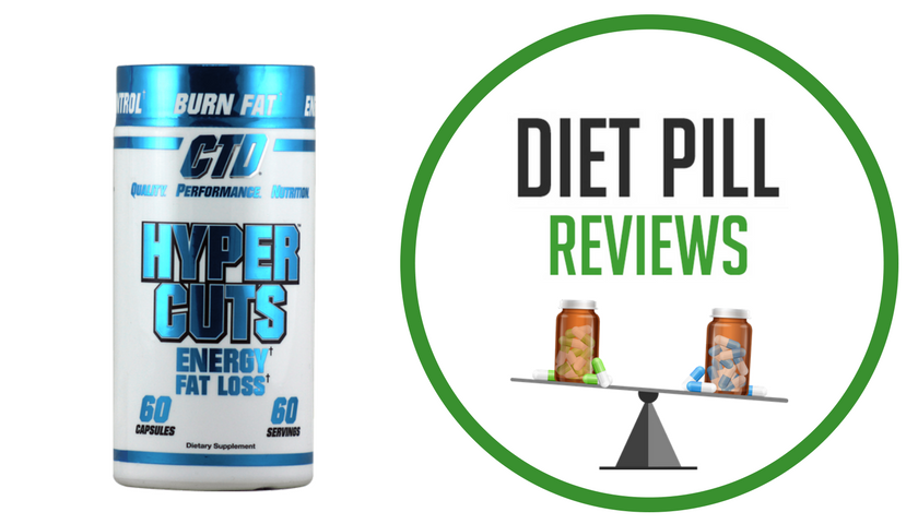 Diet Pill Review Hypercuts bottle