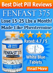 fenfast 375 diet pill reviews