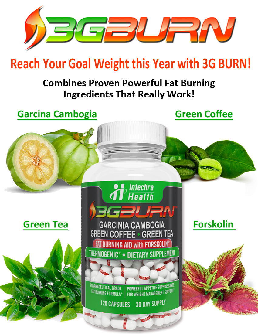 Best Diet Pills: 3G Burn